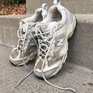 Women's 476 Silver New Balance All Terrain Shoes